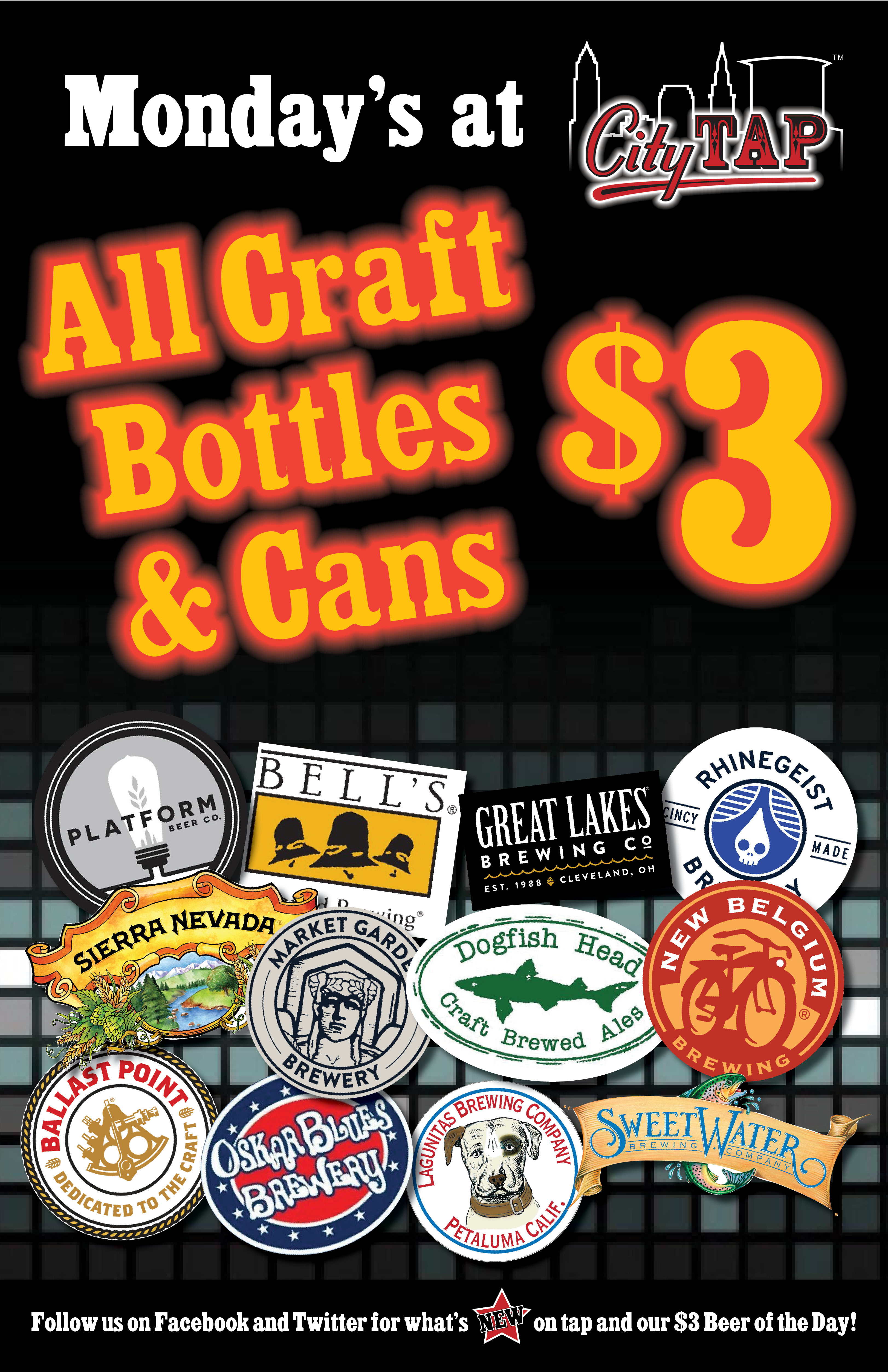 Monday's All Craft Bottles $3